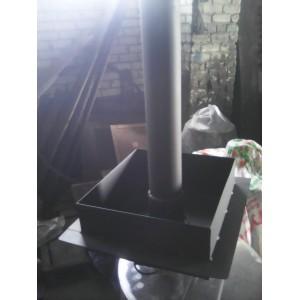 Разделка в потолок для дымохода диаметром 108 мм