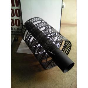 Решетка для камней дымоход диаметром 108 мм